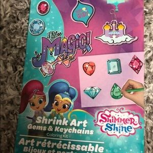Shimmer and Shine Gems and Keychains